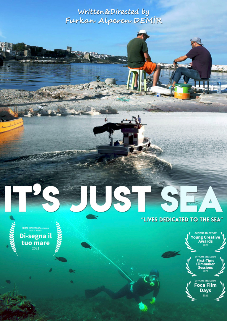 IT'S JUST SEA POSTER